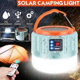 Fernbedienung Solar LED Camping Laterne USB wiederaufladbare Glühbirne Zeltleuchte Solar Glühbirne Licht