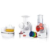 220V 3 In 1 Food Processor Blender Chopper Grinder Mixer Juicer Smoothie Maker Spice Grinder