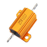 RX24 25W 1R 1RJ boîtier en aluminium en métal résistance haute puissance boîtier en métal doré résistance de résistance de radiateur