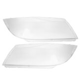 New Pair Front Headlight Headlamp Clear Lens Plastic Cover For BMW E90/E91 04-07