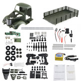 JJRC Q60 Kit 1/16 2.4G 6WD Off-Road Military Truck Crawler RC Car