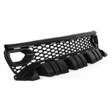 Upper Grille with Bezels Dual Inlets Black For Dodge Charger SRT Scat Pack 2015-2019