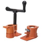 Kayu Perekatan Pipa Penjepit 3/4 Inch Tugas berat Woodworking Cast Iron Pipe Clamp