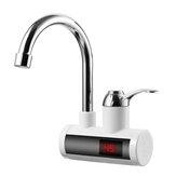 حنفية كهربائية فورية سخان الماء الساخن LED عرض مطبخ الحمام