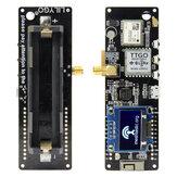 LILYGO® TTGO Meshtastic T-Beam V1.1 ESP32868 ميجا هرتز WiFi بلوتوث ESP32 GPS NEO-6M SMA 18650 البطارية حامل مع OLED
