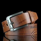 108CM Mens Retro Cowboy Belt Giải trí Wild Hollow Belt