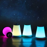 5V 1W Houshan Multi-function Night Light Colorful Atmosphere Lights Portable Outdoor USB Rechargeable Lamp