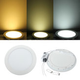 Painel ultra fino de teto redondo de 18W LED Lâmpada de luz de luz inferior 85-265V