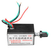 12V 24V Universal Speed Switch 4pcs Pipe Accessories Car Heater Installation Package