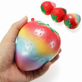 Squishy Rainbow Jam Chocolade Aardbei Jumbo 10cm Soft Slow Rising Fruit Collectie Gift Decor Toy
