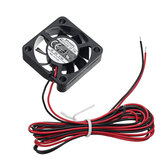 Охлаждающий вентилятор Creality 3D® 24 В с осевым потоком, 24 В, 7000 об / мин, длина 1400 мм без клеммы для 3D-принтера Ender-3 V2 Деталь