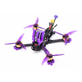 Eachine LAL 5style 220mm 6S Freestyle 5 بوصة FPV Racing Drone PNP / BNF F4 بلوتوث FC Caddx Ratel 2307 1850KV Motor 50A Blheli_32 ESC