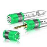 LAOA S2 1/4 inch schroevendraaierbit met magnetische ring 6,35 mm elektrische schroevendraaierbits en magnetisme-ring
