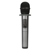 bluetooth Wireless 10 Channel UHF Microphone Dynamic Handheld Cordless Mic with Rechargeable Receiver for Karaoke Singing Church Speech