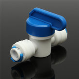 1/4 Inch Hose Quick Connection Ball Valve Aquarium System Fittings