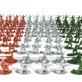 Miniature Accessories 100pcs Toy Army Set-Piece Simulated Military Parade Scene of War Toys For Boy
