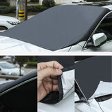Tampa do pára-brisa do carro magnético Protetor de espelho de geada neve gelo neve poeira
