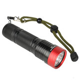HaikeLite M3 3000 Lumens Flashlight 5 Modes 26650/26350/18650 Battery Work Lamp Camping Hunting Portable Torch Light