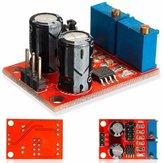 20pcs NE555 Frequência de pulso Ciclo de trabalho Módulo ajustável Gerador de sinal de onda quadrada Motorista de motor passo a passo