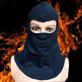 Fire Insulation Safety Work Helmet Flame Retardant Knitted Fabric Headgear High Temperature Working Head Face Protection