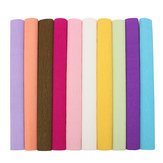 Colorful Crepe Paper Rolls Streamer Forniture per feste di matrimonio Fatti a mano Arte della carta decorativa