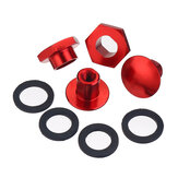 Red Rear Window Windshield Glass Strut Hardware Kit For Honda Civic Hatchback 1992-1995 CRV 1997-2001