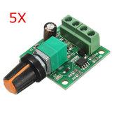 5pcs baixa tensão 1803b controlador de velocidade motor DC 1.8v 5v 3v 6v 12v 2a PWM