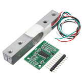 5KG Small Scale Load Cell Weighing Pressure Sensor With A/D HX711AD Adapter
