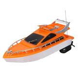 4CH 2.4G Electric Racing RC Bootsschiff Fernbedienung Hochgeschwindigkeit Kinder Kinderspielzeug Geschenk Zufällige Farbe