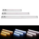 80/120/160 LED PIR Bewegungssensor Schrank Schrankleuchte USB Wiederaufladbare Küchentreppe