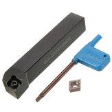 Sclcr1616h09 16x100mm chato bar Torno o porta ferramenta com inserção ccmt09t304