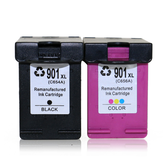TIANSE 1 Pc HP 901 Replacement Ink Cartridge 901XL for HP 901 HP901 XL for HP Officejet 4500 J4500 J4540 J4550 J4580 J4640 J4680 Printer Ink