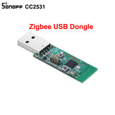 3Pcs Sonoff ZB CC2531 USB Dongle Module Bare Board Packet Protocol Analyzer USB Interface Dongle Supports BASICZBR3 S31 Lite zb