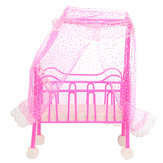 Dollhouse Furniture Bayi Bed Room Set Mainan Untuk Boneka