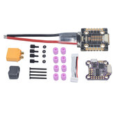 20x20mm AuroraRC SupraF7BT F7 Bluetooth Flight Controller w/ 5V 9V BEC & 40A BL_32 3-6S 4 In1 Brushless ESC Stack Support DJI Air Unit for RC Drone FPV Racing