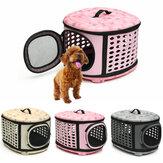 Pequeño animal doméstico Perro Gato Portador de perrito Portátil Jaula Transportador de jaulas Bolsa