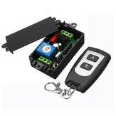 AC220V 1CH 10A Kablosuz Uzakdan Kumanda Anahtar Röle Çıkışı Radyo Alıcı Modülü Su Geçirmez Verici Ile