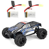PXtoys 9300 RTR with Two Battery 1/18 2.4G 4WD Sandy Land Monster Truck RC Car Vehicles Model