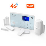 [4G Version] DIGOO DG-ZXG30 Tuya 4G&GSM 433MHz WIFI Smart Home Security Alarm System Protective Shell APP Alert