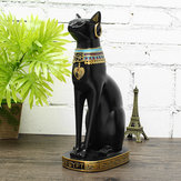 12 '' Figurine Chat Antique Egyptien Bastet Vintage Statue Déesse Décoration