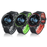 Bakeey L8 ECG+PPG Heart Rate Blood Pressure SpO2 Monitor Wristband Weather Push IP68 Waterproof Smart Watch