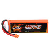 URUAV GRAPHENE 3S 11.1V 5000mAh 100C Lipo البطارية XT60 Plug for FPV RC Racing Drone