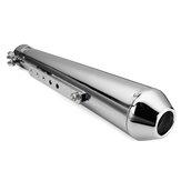 Tubo da motocicletta Racer per marmitte Tubo di scarico con staffa scorrevole universale