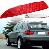 Lewa strona czerwona tylna zderzak światła odblaskowego dla BMW X5 E70 2007-2013 63217158949