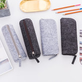 1pcs Felt Pencil Bag Pencil Case School Office Supplies Stationery Pouch Purse Storage Makeup Bags School Students Supplies