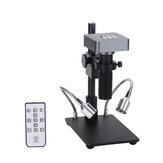 HDMI USB1080P 48mp Digital Electronic Video Microscope Camera 120X C-mount Lens Phone PCB Soldering Repair Industrial Work Set