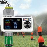 YUGE New LCD Bildschirm Elektronische automatische Sprinklersteuerung Regensensor Wasserdichter Bewässerungstimer Bewässerungswerkzeug für Gartenbewässerungsgeräte im Freien