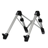 YDA-007 Foldable Laptop Stand Notebook Holder Portable Lapdesk Bracket for 11-15.6 inch Laptops