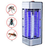 Garden Electric LED Asesino de mosquitos Lámpara Enchufe Night Light Bug Insect Trap Anti-Mosquito Zapper