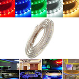 1M 3.5W Waterdicht IP67 SMD 3528 60 LED Strip Touwlicht Kerstfeest Outdoor AC 220V